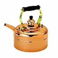 Old Dutch 868 Tri-Ply Copper Windsor Whistling Teakettle, 3-Quart