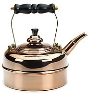 Simplex Heritage 2 Quart Tea Kettle, Copper