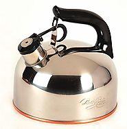 Whistling Tea Kettle with Copper Bottom