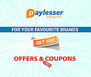 Paylesser : Coupons & Discount Code for Online Shopping