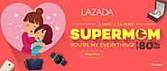 Mother's Day Sale: Lazada Voucher for Malaysia in May 2017