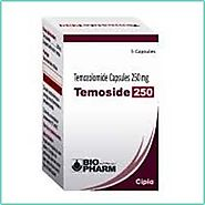 Buy Temoside 250mg Temozolomide Tablets Online @ Uk, USA