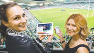 Sports fans switch on for all the game action - $197 million SCG grandstand will put new sport experience at their fi...