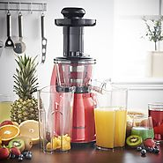 VonShef Juicer Reviews | The Masticating Juicer - Smart Masticating Juicer