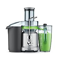 Breville BJE430SIL | The Juice Fountain Cold - Smart Masticating Juicer