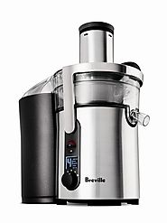 Breville BJE510XL Review | Juice Fountain Juicer - Smart Masticating Juicer