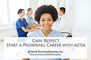 Gain Respect, Start a Promising Career with Aztek