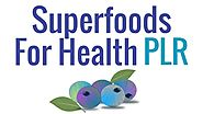 Superfoods PLR Special Review: New Superfoods PLR is Ready For You - FlashreviewZ.com