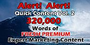 320K Premium IM Words Content Review: Discount and Bonuses - FlashreviewZ.com