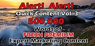 500K Words Expert IM Content Review: Honest Review With Bonuses - FlashreviewZ.com