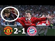 Manchester United vs Bayern Munich (2-1) UCL Final 1999