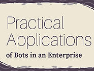 Infographic: 4 Practical Applications of Bots in an Enterprise - Acuvate