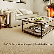 Wool Carpet manufacturers in India