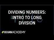 Intro to long division (no remainders) (METHOD)