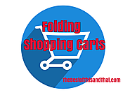 Best Folding Shopping Carts with Swivel Wheels - 5 Top Reviews