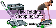 Clax Collapsible Trolley and Folding Cart Review - Finderists