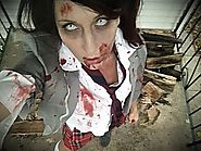 How To Dress Like a Zombie Schoolgirl