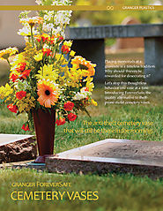 Cemetery Vases & Burial Urns