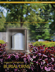ForeverSafe™ Cremation Burial Urns