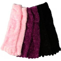 Amazon.com: Soft and Warm Microfiber Fuzzy Toe Socks in Black or Pink (Pink): Clothing