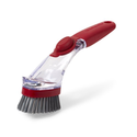 KitchenAid Classic Soap Dispensing Sink Brush, Red