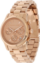 Michael Kors Rose Gold Runway Watch - Women's Watch MK5128