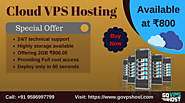 Best Cloud VPS Hosting Provider - Hosting Available at Low Cost