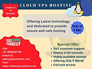 Buy Cloud VPS Hosting - Best Service Provider