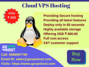 Cloud VPS Hosting - Best Cloud Virtual Server Hosting at Low Price