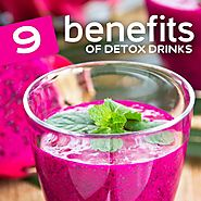 9 Benefits of Detox Drinks for Weight Loss