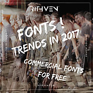 Free Commercial Fonts - Best free fonts 2017 - How to be Visible?