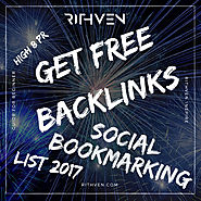 Get Free Backlinks - Social Bookmarking 10 High 8 PR (list 2017) - How to be Visible?