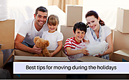 Best tips for moving during the holidays