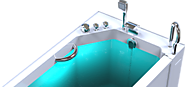 Bathtub for Elderly and Handicapped by Safety Bath Walk in Tubs