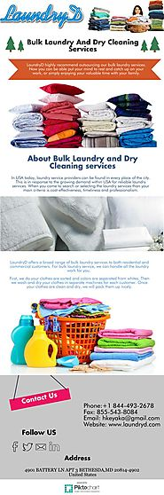 Bulk Laundry And Dry Cleaning Services