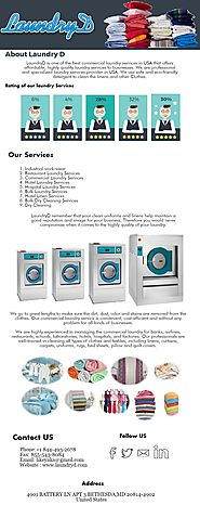 Industrial work-wear and Commercial Laundry Services