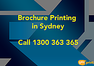 Cheap Brochure Printing in Sydney