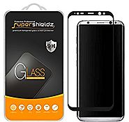 Samsung Galaxy S8 Plus / S8+ Tempered Glass Screen Protector, (Full Screen Coverage) Supershieldz [3D Curved Glass], ...