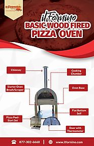 Basic Series Wood Fired Pizza Oven by ilFornino