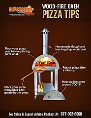 Tips for making pizza in Wood Fired Pizza Oven