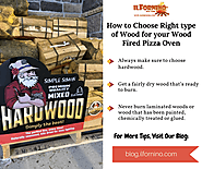 How to choose right type of wood for your wood fired pizza oven?