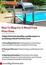 How To Shop For A Wood Fired Pizza Oven?