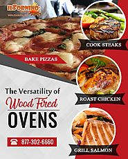 The Versatility of Wood Fired Pizza Ovens