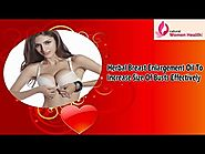Herbal Breast Enlargement Oil To Increase Size Of Busts Effectively