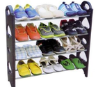 Buy 12 Pair Stackable Shoe Rack Storage 4 Layer at Shopper52