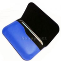 Buy Blue Samsung Galaxy I9300 S3 Leather Pouch Cover Soft Flip Case Sleeve at Shopper52