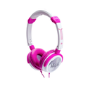 iDance CRAZY 101 Headset (PINK and WHITE)