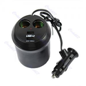 Buy Auto Car Charger 4 in 1 Cup 2 Socket 2 USB at Shopper52