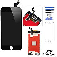 Black iphone 6s LCD Display Touch Screen Digitizer Assembly Screen replacement full set with tools by Mr Repair Parts