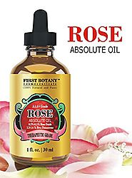 100% Pure Rose Essential Oil 1 fl. oz - Ultra Premium Undiluted Rose Oil / Rose Absolute Oil